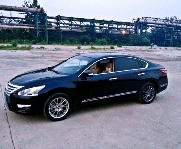 出售2013款新世代天籁自用改装轮毂加胎 -天籁论坛图片