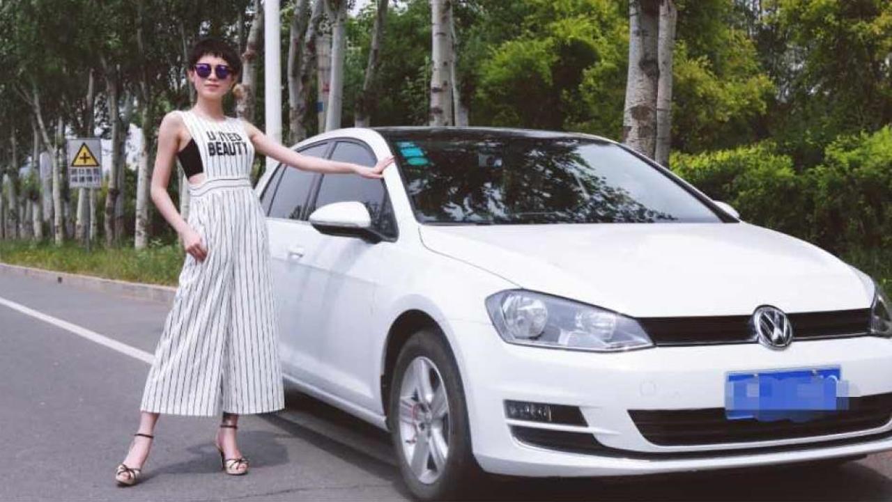 《易见》美女青睐高尔夫 油耗满意停车优势明显