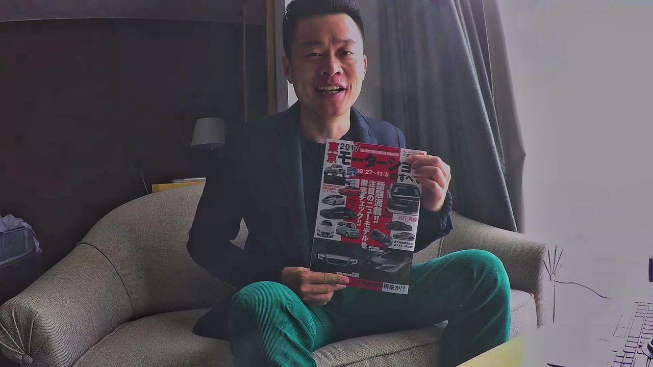 东京车展看什么?吴佩用一本杂志告诉你