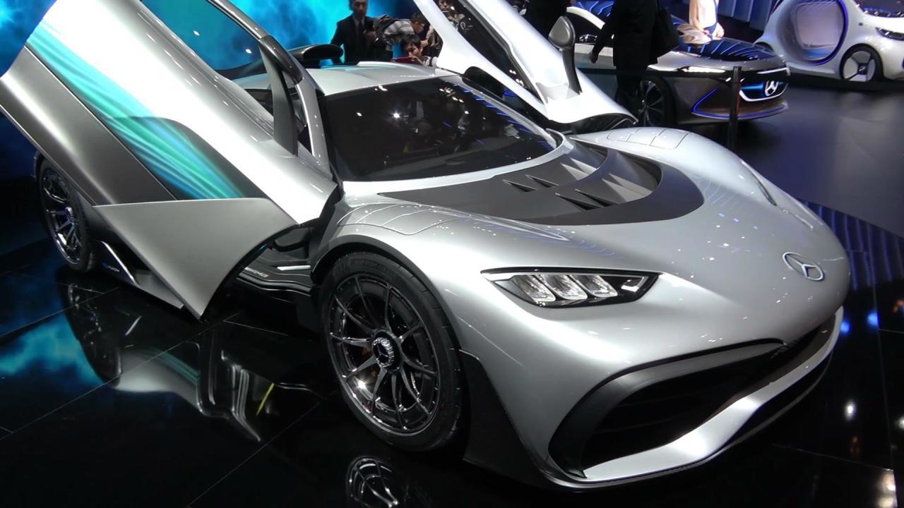 合法F1!AMG Project One亮相车展