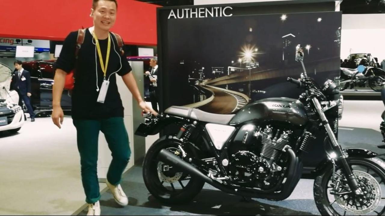 东京车展:本田这辆摩托车居然卖出一亿台!