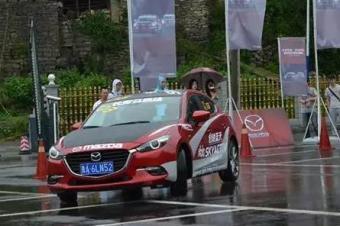 雨中试驾昂克赛拉,感受通通在这儿了!