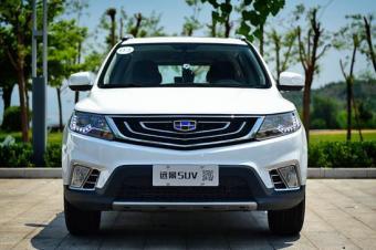 吉利全新SUV定名远景SUV 将于6月14日亮相高清图片