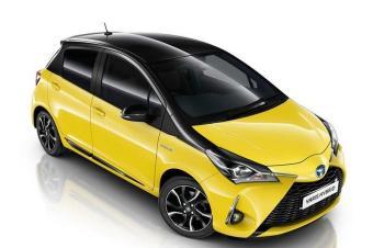 丰田新款YARiS黄色特别版 外观及内饰进行调整