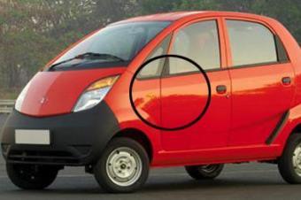 看了印度品牌寒酸的小车,默默的给中国品牌点了个赞