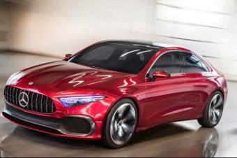 全新梅赛德斯奔驰A级轿车 2018年将在美国上市