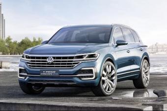 全新大众途锐 将在2018年4月北京车展亮相