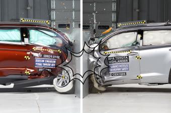 七座中型SUV对决 福特锐界和丰田汉兰达谁更安全