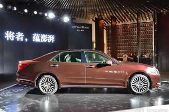 """新款皇冠可能成为在中国的""""绝版"""""""