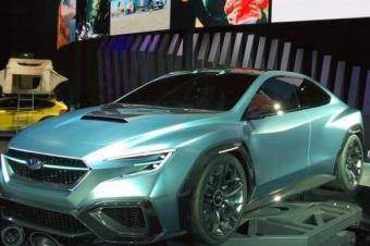 拉力神车也要电动 新斯巴鲁WRX将2020年亮相