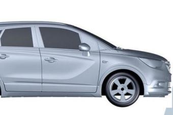定位高于昂科拉 别克新款SUV车型专利图曝光