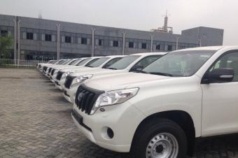 丰田中东版普拉多2.7L北京现车报价