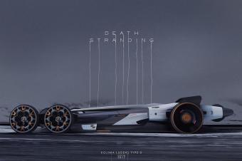 科幻感攻击性十足,设计师打造《死亡搁浅》载具