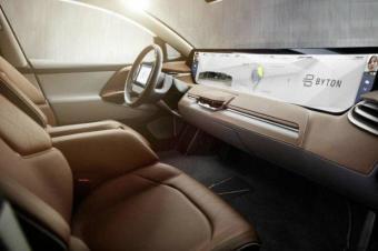 刷脸就能开车门,BYTON拜腾推出全新概念车!