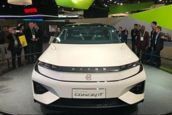 拜腾首款概念车量产售价30万起,黑科技堪比特斯拉