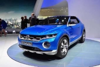 大众小型SUV T-ROC实车路试 将于9月亮相