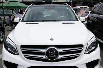 17款奔驰巴博斯40GE现车手续齐最低价格