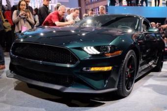 直击北美车展:福特Mustang Bullitt