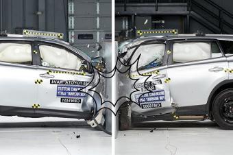 安全至上,RAV4主、副驾驶碰撞测试成绩竟差这