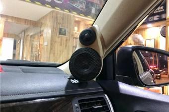 丰田凯美瑞汽车音响改装-高性价比的改装全过程