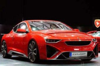 爱驰汽车能跑800km的电动跑车来了