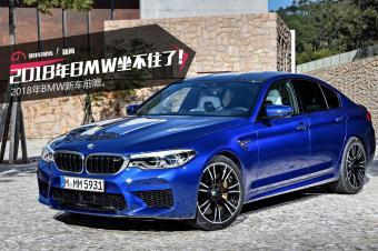 对手纷纷发布新车,2018年BMW 坐不住了!