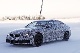 宝马全新M3预计明年亮相!