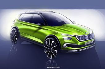 斯柯达全新量产小型SUV明年发布!