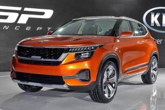 首先针对印度市场 起亚SP概念车设计有改观