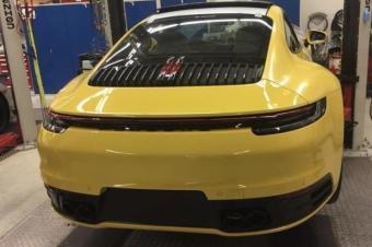 全新一代911车尾曝光 经典保留