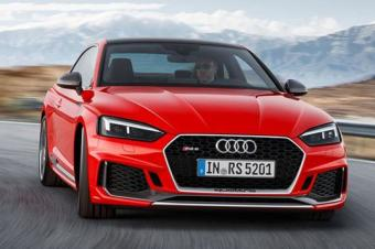 奥迪全新RS5 Coupe年内入华 售价95万元