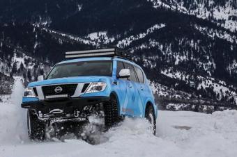 超强雪地利器 日产ARMADA概念车专供美国市场