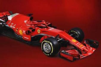 法拉利发布新赛季F1赛车 这车有点丑啊!