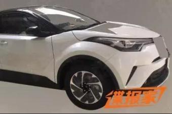 一汽丰田小型SUV先行上市 8万起步