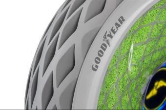 固特异展示新能源环保概念轮胎