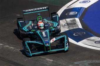 Formula E墨西哥开战,捷豹车队冲入前三