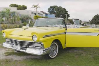 1957年福特老爷车怎样变成电动汽车:彻底改变了