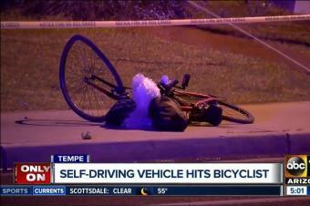 自动驾驶第一起命案:Uber原型车撞上自行车女子