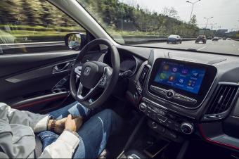 实测自动驾驶量产车,长安CS55告诉你啥叫放手开