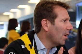 东风雷诺公司市场销售部副部长罗朗先生 F1诠释雷诺品牌的灵魂