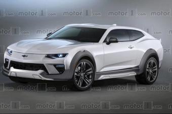 科迈罗SUV车型假想图曝光!电动的科迈罗还叫肌肉车吗?