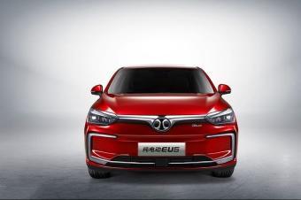 北汽新能源EU5官图发布 北京车展正式亮相