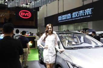 北京车展礼仪大冒险