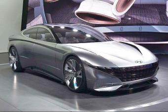 对未来运动车的理解 现代Le Fil Rouge概念车首亮相