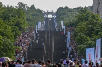 哈弗H9成功登顶长江第一梯 这又让重庆多一个网红点