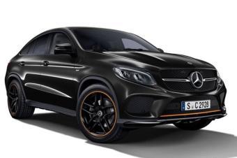 全黑化风格 贵1.9万,AMG GLE 43轿跑幻橙特别版售