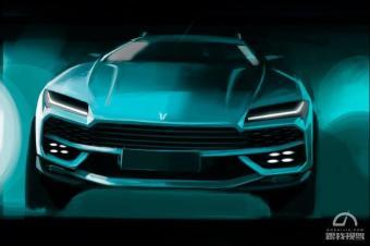 光颜值就已甩开对手一个身位 北汽幻速全新SUV设计图曝光
