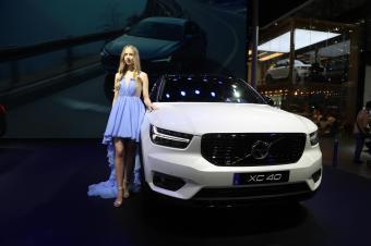 沃尔沃全新XC40华南首发,2018深港澳国际车展实拍!