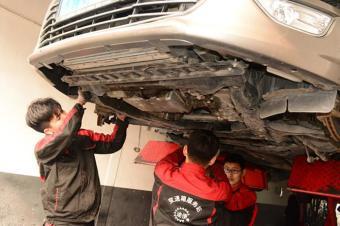 福特致胜双离合变速箱限制功能报警维修