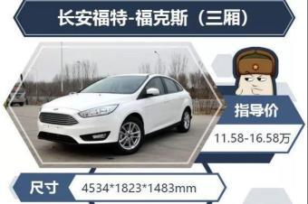 16万买这三款安全配置极高的车吧!值得推荐